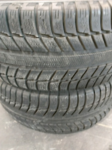 2 winter tires, 225/45r17