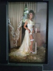 YELLOW WEDDING GOWN made in CANADA
