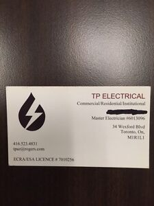 BEST RATES/MASTER ELECTRICIAN