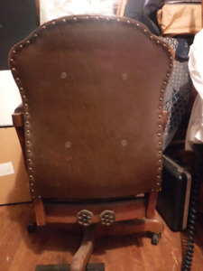 Vintage Swivel Banker's Chair