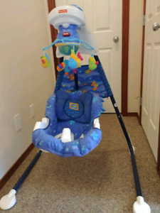 Free Fisher Price swing