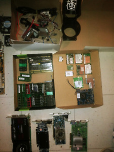 Tons of PC Parts!!