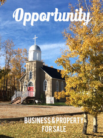 House and church building for sale