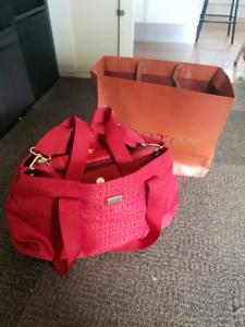 New Oroton Overnight Bag