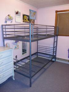 Metal IKEA bunk bed