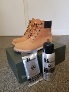 Selling Women's Timberland Boots Brand New + Cleaning Kit