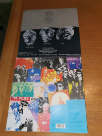 vinyl records by the police