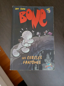 FRENCH Bone Graphic Novel by Jeff Smith