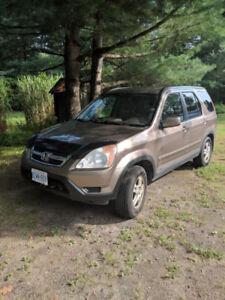 HONDA CRV AWD