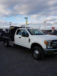 NEW 2017 Ford F-350 XLT Chassis Cab w/ Dump Body