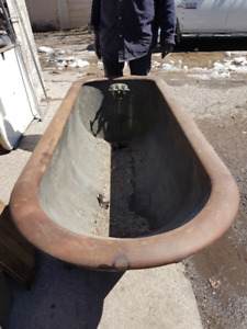 antique soaker tub for sale.