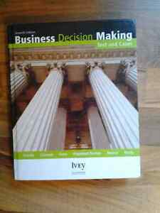 Business Decision Making Text and Cases