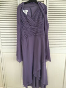 Lovely Mauve Chiffon dress