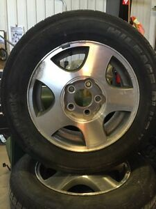 2002 Chevy Malibu tires and rims