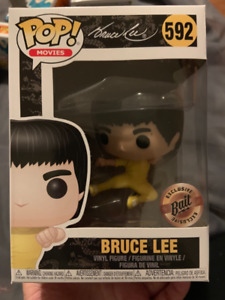 Funko POP! Movies Bruce Lee Flying Man NYCC 2018 Bait Exclusive