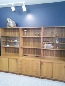 Teak Wall Unit | Buy and Sell Furniture in Edmonton Area | Kijiji ...