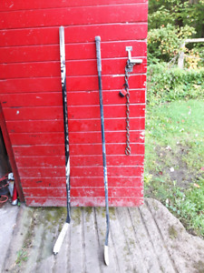 Easton s19 and Bauer surprem one95