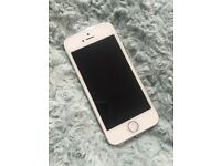 White silver Apple IPhone 5S mobile phone unlocked 16GB