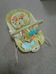 Fisher Price bouncy seat with vibration