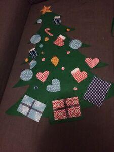 Felt Christmas tree  Edmonton Edmonton Area image 1
