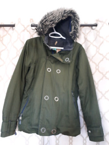 Green Bonfire Snowboarding Jacket SM