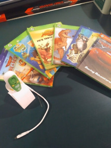 Learn to read leapfrog tag reader