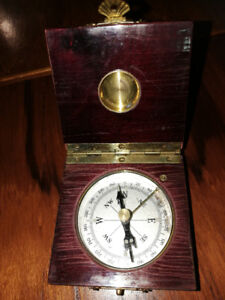 Antique Compass/Works/Is Magnetic N moving?