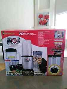 Moving sale! Magic bullet food processor. New condition.