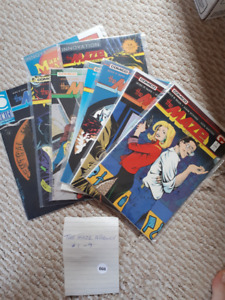 The Maze Agency comic lot #1-9 1988-89