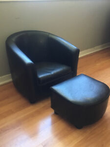Child Club Chair and Ottoman