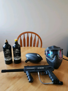 New Paintball gear - tipmann