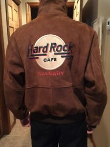 Leather Men's Jacket from the Hard Rock Café