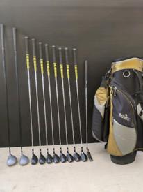 Golf clubs left handed set