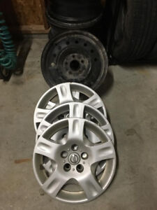 16 inch steel rims and wheelcovers