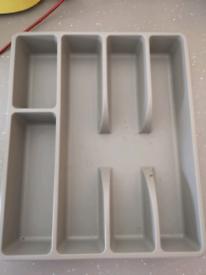 Free Kitchen drawer cutlery organiser tray