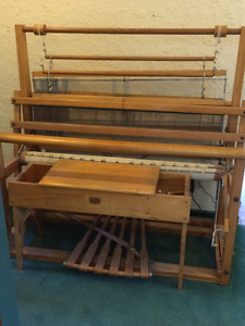 Loom for Weaving plus Bench