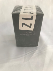 Brand new sealed Zlatan Cologne.