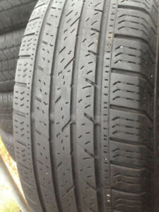 4 Continental Summer tires 225-65-17