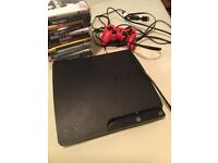 Ps3 with 14 games and controller