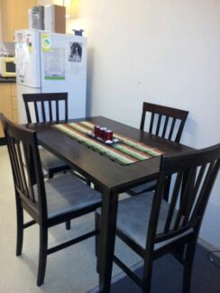 Dining table and chairs 4 seater Woolooware Sutherland Area Preview