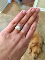 Lost Pearl Engagement Ring in Vancouver, please help!