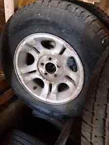 Michelin ltx On ford Alminium rims 215 60 15 Kitchener / Waterloo Kitchener Area image 1