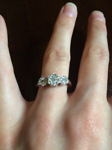 Appraised white gold rings