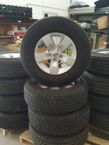 Dodge rims with tires new