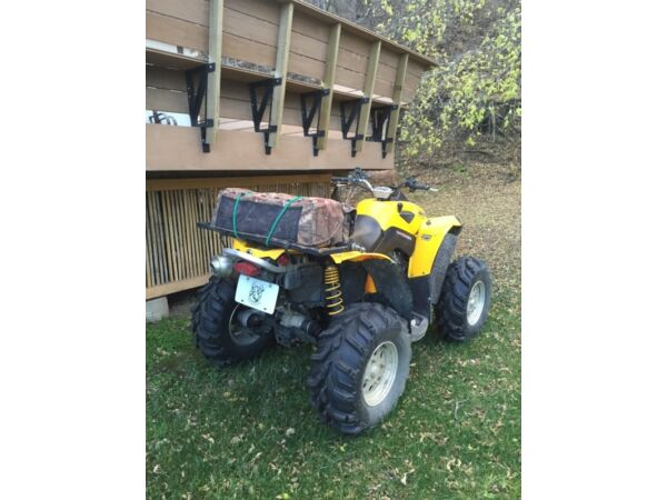 Used 2008 Can-Am renegade 500