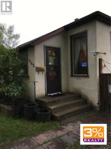 Own this 1040' 2 bedroom (could be 3) home ~ by 3% Realty