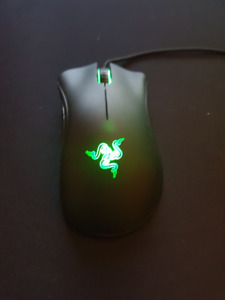 Razer Death Adder Laser Sensor Green LED Backlit