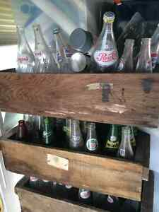 Old pop bottles (over 200)