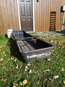 Equinox Trailboggan snowmobile sled