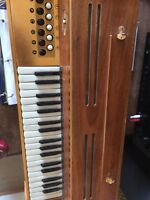 Frontalini Italy electric accordion vintage